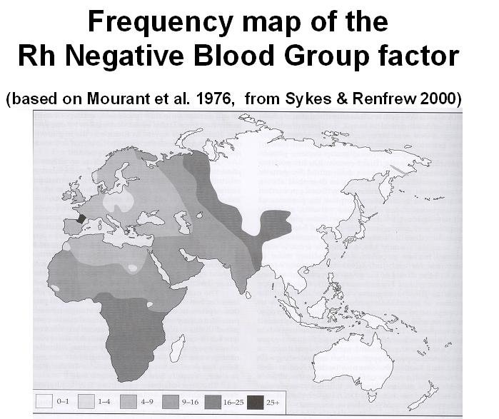 Who are your blood types' ancestors? | Donner Sang Compter's ...