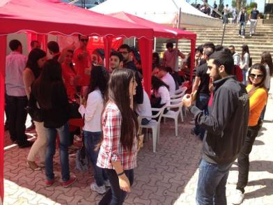 LAU Jbeil Blood Drive