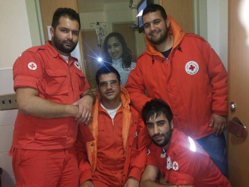Diana Red Cross Volunteer