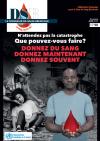 DSC honored in the June 2017 issue of the Fédération Française des Donneurs de Sang Bénévoles(FFDSB)